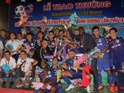 Club vietnamita gana copa internacional de fútbol