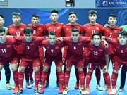 Equipo de Vietnam gana boleto para los cuartos de final del Campeonato Asiático de futsal 2018