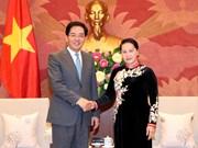 Presidenta del Parlamento de Vietnam destaca relaciones con China