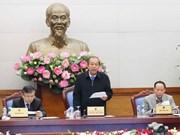 Gobierno vietnamita acelera tareas socioeconómicas de 2018