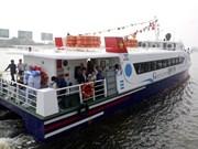 Inauguran nueva línea de barcos expresos Ciudad Ho Chi Minh - Vung Tau