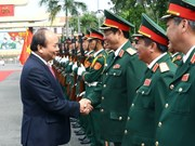 Premier vietnamita destaca esfuerzos de Zona Militar 5