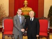 Destacan intereses compartidos de Vietnam y Francia