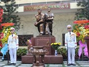 Inauguran monumento a mártires en Ofensiva General de 1968