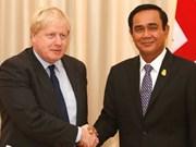 Ministro de Asuntos Exteriores del Reino Unido visita Tailandia