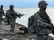 Países en Asia- Pacífico participan en ejercicio militar multinacional