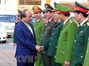 Premier de Vietnam visita Da Nang en el primer día del Tet