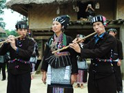 Trajes tradicionales del pueblo étnico Lu