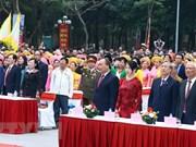 Premier vietnamita asiste al acto conmemorativo del triunfo Ngoc Hoi- Dong Da