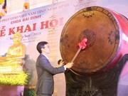 Vicepremier inaugura Festival de Pagoda Bai Dinh