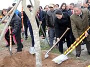 Vicepresidente de Parlamento de Vietnam inaugura festival de plantación de árboles