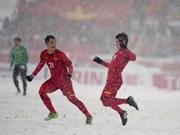 Televisión japonesa valora altamente el desarrollo de fútbol de Vietnam
