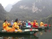 Ninh Binh, un destino popular para los turistas