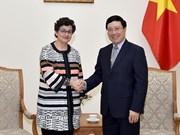 Vietnam pide más apoyo del Centro de Comercio Internacional