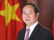 Presidente de Vietnam aboga por estrechar lazos comerciales con India