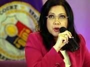 Presidenta de Corte Suprema de Filipinas cesará sus labores por tiempo indefinido
