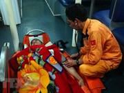 Rescatan a marinero extranjero accidentado en aguas de Vietnam