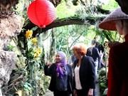 Presentan en Praga orquídeas de origen de Vietnam