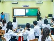 Ciudad Ho Chi Minh estudia la aplicación del modelo de escuela inteligente
