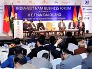 Presidente Tran Dai Quang interviene en Foro Empresarial Vietnam- la India