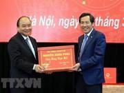 Premier de Vietnam ensalza la labor y el empeño del diario Nhan Dan