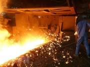 Grupo vietnamita Hoa Phat exportó más de 30 mil toneladas de acero en febrero