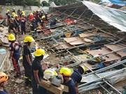 Filipinas: Derrumbe de edificio deja cinco muertos