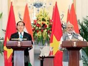 Presidente vietnamita  concluye las visitas a India y Bangladesh