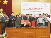 Provincia vietnamita y banco japonés firman memorando sobre impulso de inversiones