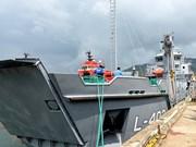 Vietnam entregó barco de desembarco logístico a Panamá