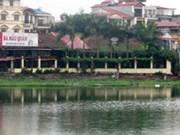Mejoran calidad del agua en los lagos de Hanoi