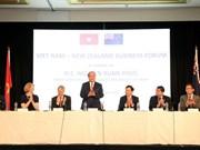 Premier vietnamita interviene en Foro Empresarial con Nueva Zelanda