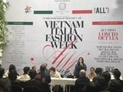 Semana de moda marcará aniversario de relaciones diplomáticas Vietnam-Italia