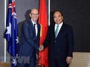 Premier de Vietnam recibe a importantes inversores australianos