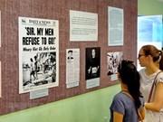 Presentan exposición sobre movimientos contra la guerra de Estados Unidos en Vietnam