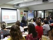 Efectúan charla sobre Vietnam en Universidad Argentina de la Empresa