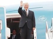 Secretario general del Partido Comunista de Vietnam visitará Francia y Cuba