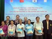 Sudcorea dona 10 mil toneladas de arroz a localidades vietnamitas afectadas de desastres naturales