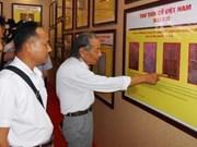 Exposición muestra autoridad de Vietnam sobre Hoang Sa y Truong Sa