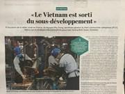 Prensa francesa aprecia logros de desarrollo económico de Vietnam