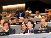 Presidenta parlamentaria vietnamita asiste a Asamblea 138 de IPU