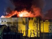 Vietnam dispuesto a proteger sus ciudadanos frente a incendio de gran centro comercial en Rusia