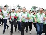 Carreras por salud en Vietnam atrajo nutrida participación de pobladores