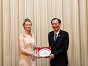 Ciudad Ho Chi Minh fortalece cooperación legislativa con senadores de Estados Unidos
