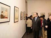 Presentan en Hanoi obras maestras del ilustrador checo Jiri Silva