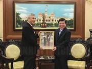 Ciudad Ho Chi Minh promete alfombra roja para inversores de Indonesia