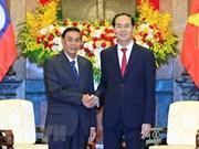 Vietnam y Laos consolidan relaciones tradicionales especiales