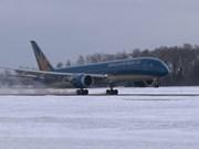 Vietnam Airlines realiza con éxito primer vuelo Hanoi – Moscú con Boeing 787-9 Dreamliner