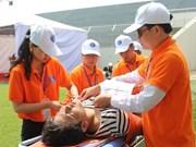 Da Nang organiza simulacros de cooperación regional en respuesta a desastres naturales