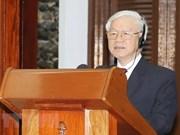 Nguyen Phu Trong resalta ejemplo único y especial de amistad Vietnam- Cuba